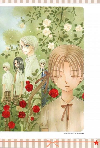Tags: Anime, Higuchi Tachibana, Gakuen Alice, Sakura Mikan, Yukihira Izumi, Yukihira Kazumi, Shiki Masachika, Igarashi Kaoru (Gakuen Alice), Scan, Official Art