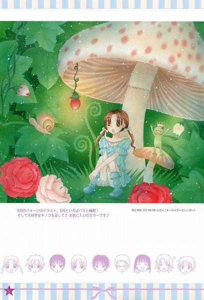 Tags: Anime, Higuchi Tachibana, Gakuen Alice, Tobita Yuu, Andou Tsubasa, Kokoro Yome, Imai Hotaru, Shouda Sumire, Hyuuga Natsume, Sakura Mikan, Anjo L. Narumi, Snail, Thumbelina (Parody)