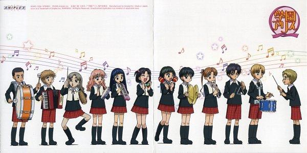 Tags: Anime, Group TAC, Gakuen Alice, Tobita Yuu, Sakura Mikan, Mochiage, Kokoro Yome, Umenomiya Anna, Nogi Ruka, Shouda Sumire, Imai Hotaru, Usami Wakako, Ogasawara Nonoko
