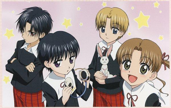 Tags: Anime, Higuchi Tachibana, Group TAC, Gakuen Alice, Sakura Mikan, Nogi Ruka, Imai Hotaru, Hyuuga Natsume, Official Art, Scan