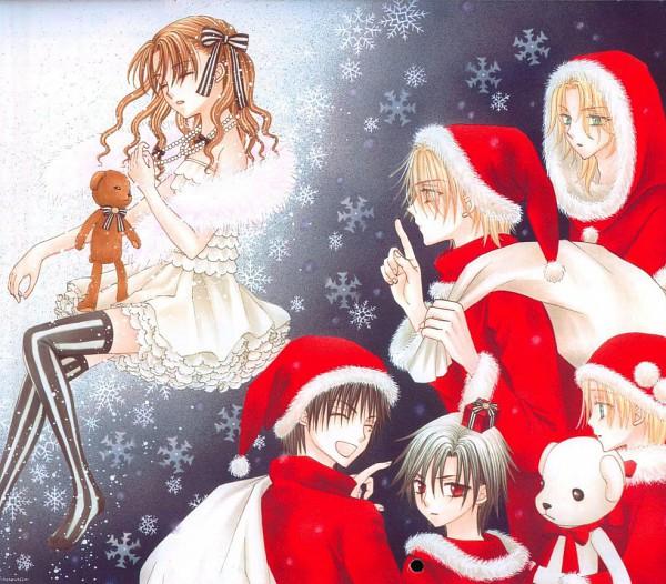 Tags: Anime, Higuchi Tachibana, Gakuen Alice, Sakura Mikan, Nogi Ruka, Anjo L. Narumi, Sonou Kaname, Andou Tsubasa, Mr. Bear, Hyuuga Natsume, Official Art
