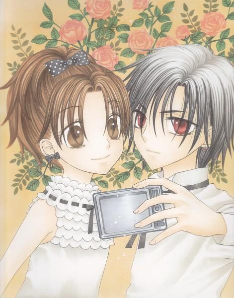Tags: Anime, Higuchi Tachibana, Gakuen Alice, Sakura Mikan, Hyuuga Natsume, Official Art