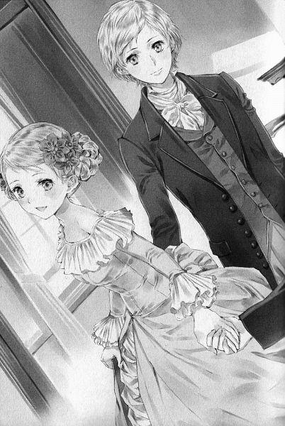 Tags: Anime, Kishida Mel, Gakusei Shoujo, Official Art, Character Request, Scan