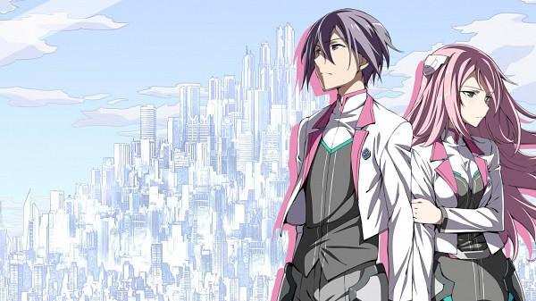 Tags: Anime, Gakusen Toshi Asterisk, Amagiri Ayato, Julis Alexia von Riessfeld, 1366x768 Wallpaper, Edited, Wallpaper, The Asterisk War