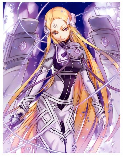 Tags: Anime, BUNBUN, Kaku-san-sei Million Arthur, Galahad (Million Arthur), Scan