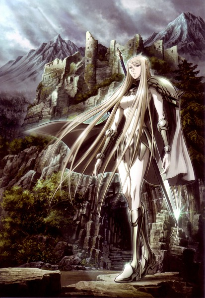 Tags: Anime, Claymore, Galatea, Mobile Wallpaper