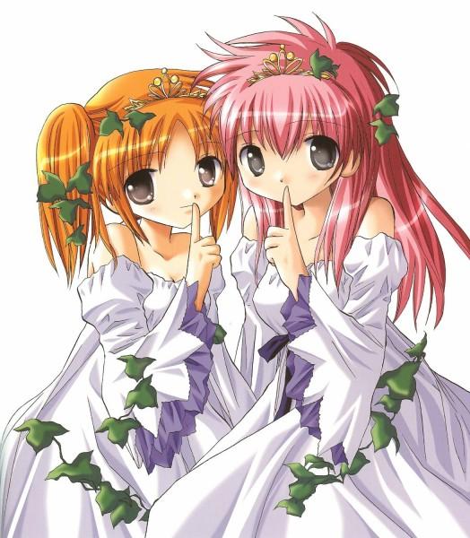Tags: Anime, Kanan, Galaxy Angel II, Sakuraba Apricot, Sakuraba Milfeulle, Ivy