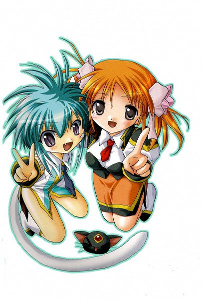 Tags: Anime, Galaxy Angel II, Galaxy Angel, Sakuraba Apricot, Nano-nano Pudding