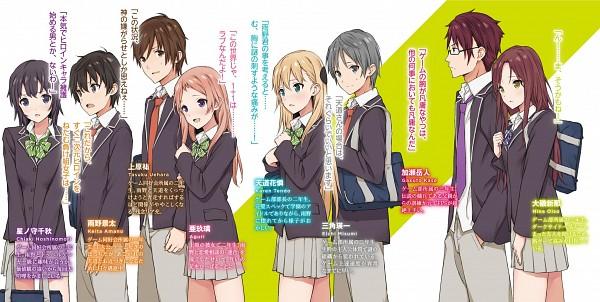 Tags: Anime, Sabo1038, Gamers!, Tendou Karen, Amano Keita (Gamers!), Uehara Tasuku, Oiso Nina, Aguri (Gamers!), Misumi Eiichi, Hoshinomori Chiaki, Kase Gakuto, Novel Illustration, Official Art