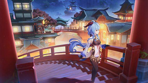 Tags: Anime, Pixiv Id 58863145, Genshin Impact, Ganyu, Wallpaper