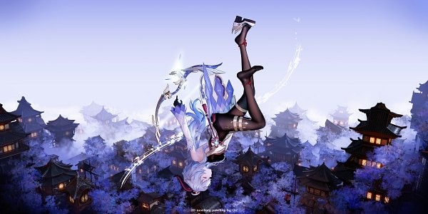 Tags: Anime, Pixiv Id 17523066, Genshin Impact, Ganyu, Pixiv, Fanart, Fanart From Pixiv
