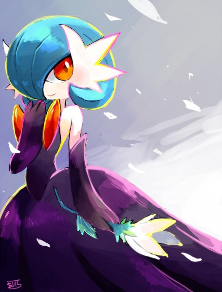 Tags: Anime, suikuzu, Pokémon, Gardevoir, Shiny Pokémon, Tumblr, Mega Form (Pokémon), Fanart