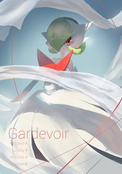Tags: Anime, Pixiv Id 3016111, Pokémon, Gardevoir, Pixiv, Fanart From Pixiv, Fanart, PNG Conversion, Mobile Wallpaper, Mega Form (Pokémon)
