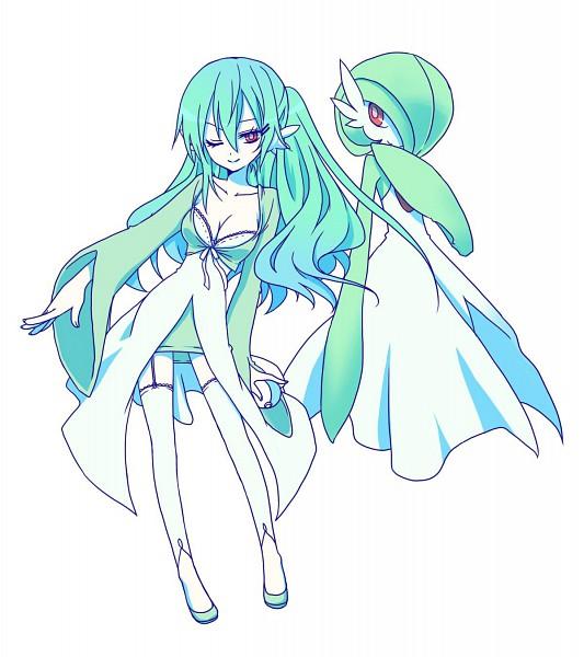 Tags: Anime, Akira (Ku0427), Pokémon, Gardevoir, Pixiv