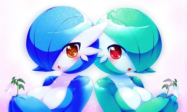 Tags: Anime, Pixiv Id 121076, Pokémon, Gardevoir, Shiny Pokémon