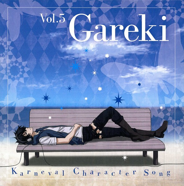 Tags: Anime, manglobe, Karneval, Gareki, Official Art