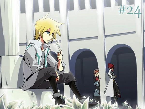 Tags: Anime, Pixiv Id 307194, Garo: Honoo no Kokuin, Alfonso San Valiante, Leon Luis, Garo: The Carved Seal Of Flames