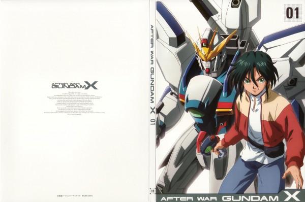 Tags: Anime, Nishimura Nobuyoshi, Kidou Shinseiki Gundam X, Garrod Ran, DVD (Source), Official Art, Gundams