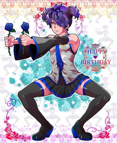 Tags: Anime, Pixiv Id 1743739, Ib, Garry, Hatsune Miku (Cosplay), Small Pupils, Pixiv, Fanart, Fanart From Pixiv