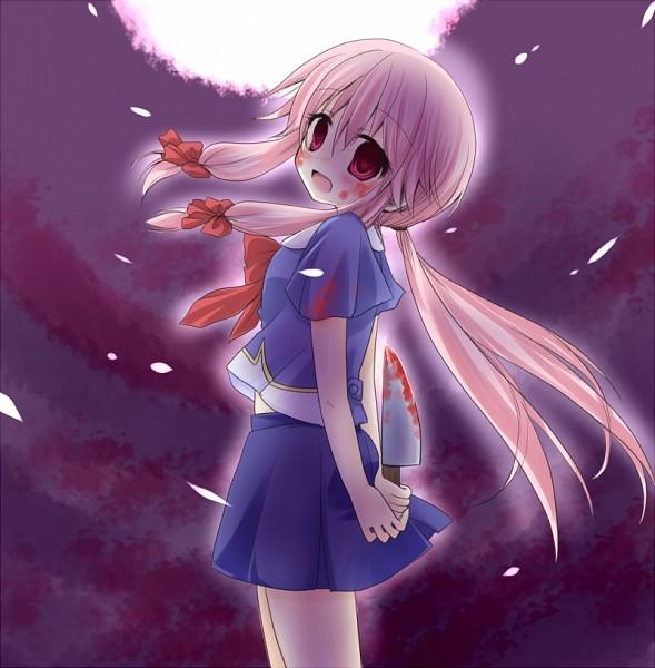 Tags: Anime, Pixiv Id 231326, Mirai Nikki, Gasai Yuno, Nife