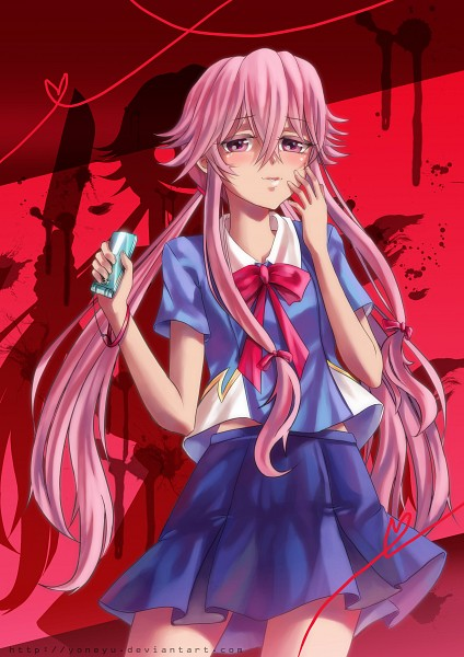 Gasai Yuno - Mirai Nikki - Mobile Wallpaper #1574114 ...