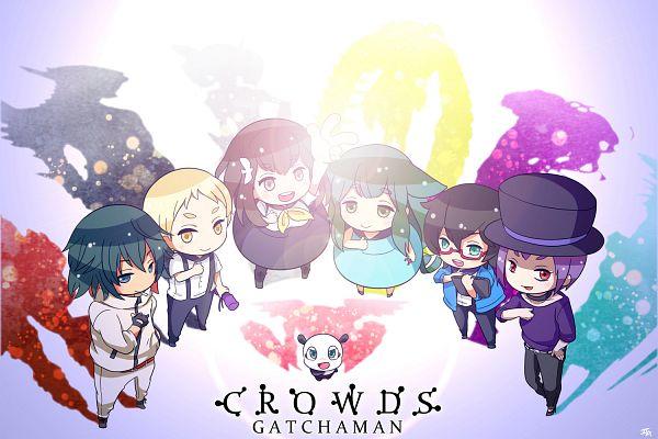 Tags: Anime, Pixiv Id 2584338, Gatchaman Crowds, Tachibana Sugane, Paiman, O.D, Hibiki Joe, Miya Utsu-tsu, Ninomiya Rui, Ichinose Hajime