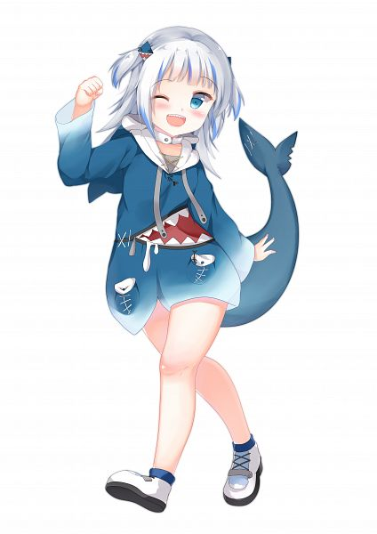 Tags: Anime, Pixiv Id 25401665, Hololive, Gawr Gura Ch., Gawr Gura