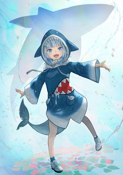 Tags: Anime, Pixiv Id 42648936, Hololive, Gawr Gura Ch., Gawr Gura