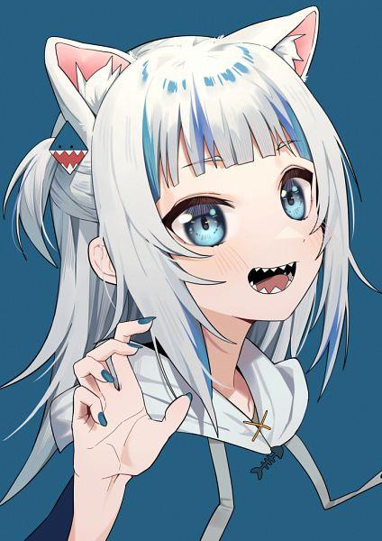 Tags: Anime, Pixiv Id 12505972, Gawr Gura Ch., Hololive, Gawr Gura, Fanart From Pixiv, Pixiv, Fanart