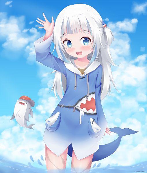 Tags: Anime, Pixiv Id 41106568, Gawr Gura Ch., Hololive, Bloop, Gawr Gura, Shark