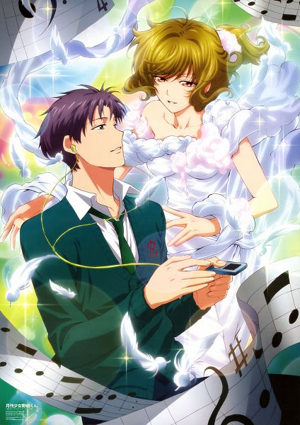 Tags: Anime, Dogakobo, Gekkan Shoujo Nozaki-kun, Seo Yuzuki, Wakamatsu Hirotaka, Mobile Wallpaper, Official Art, Scan, Monthly Girls' Nozaki-kun