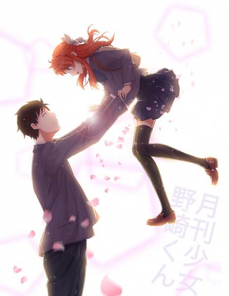Tags: Anime, Pixiv Id 10606052, Gekkan Shoujo Nozaki-kun, Sakura Chiyo, Nozaki Umetarou, Fanart From Pixiv, Pixiv, Fanart, Monthly Girls' Nozaki-kun