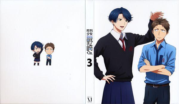 Tags: Anime, Taniguchi Junichiro, Dogakobo, Gekkan Shoujo Nozaki-kun, Hori Masayuki, Kashima Yuu, Official Art, Scan, DVD (Source), Wallpaper, Monthly Girls' Nozaki-kun