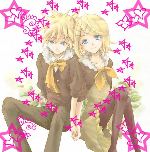 Tags: Anime, Project DIVA 2nd, VOCALOID, Kagamine Rin, Kagamine Len, Gemini (VOCALOID), Project DIVA Asymmetry, Kagamine Mirrors