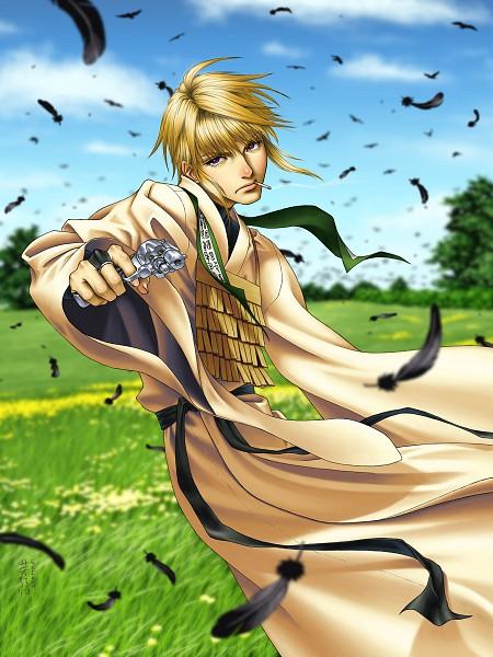 Tags: Anime, Saiyuki, Genjyo Sanzo, deviantART