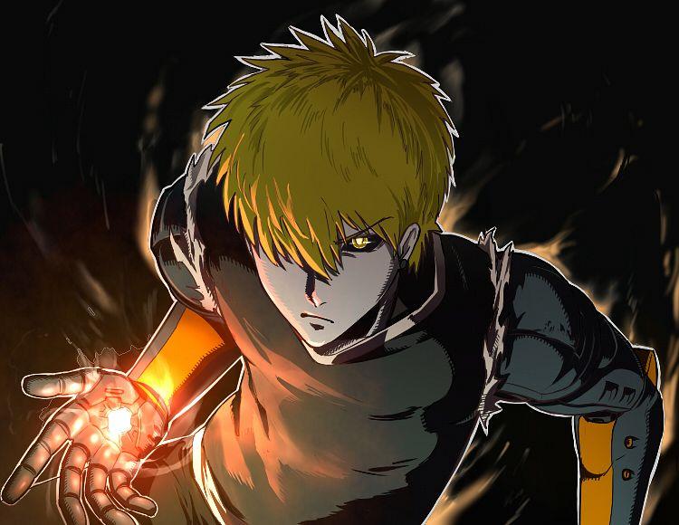 Tags: Anime, Pixiv Id 78895, One Punch Man, Genos (One Punch Man), Cyborg, Pixiv, Fanart