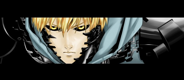 Tags: Anime, Pixiv Id 4762290, One Punch Man, Genos (One Punch Man), Fanart From Pixiv, Facebook Cover, Pixiv, Fanart