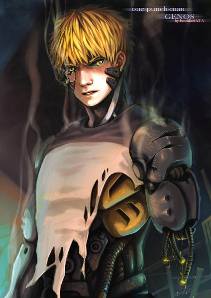 Tags: Anime, Pixiv Id 6720848, One Punch Man, Genos (One Punch Man), Fanart From Pixiv, Pixiv, Fanart