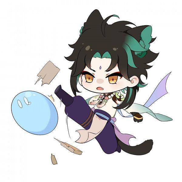 Tags: Anime, Pixiv Id 60099655, Genshin Impact, Xiao (Genshin Impact)