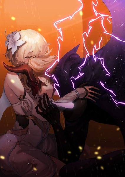 Tags: Anime, Pixiv Id 60361908, Genshin Impact, Lumine (Genshin Impact), Tartaglia