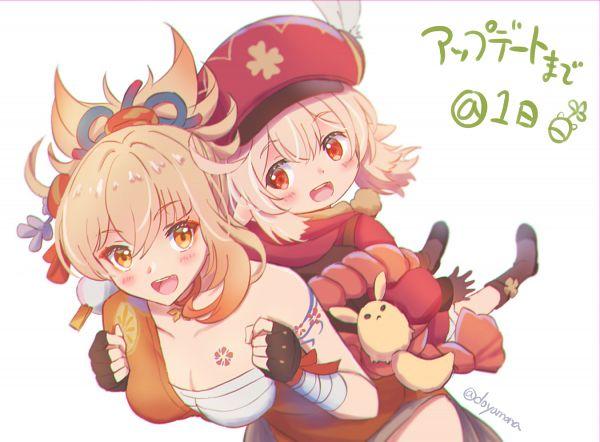 Tags: Anime, Pixiv Id 67717416, Genshin Impact, Klee (Genshin Impact), Yoimiya