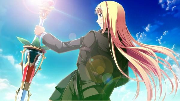 Tags: Anime, Kantaka, Galactica, Gensou Douwa ALICETALE, Character Request, Wallpaper, CG Art