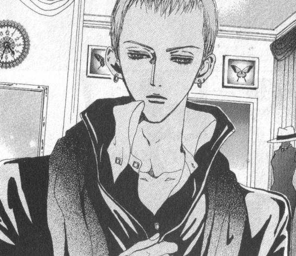 Tags: Anime, Paradise Kiss, George Koizumi, Official Art, Manga Page, Scan, Small Manga Page