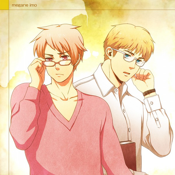 Tags: Anime, Moguimo, Axis Powers: Hetalia, Prussia, Germany, Fanart, Pixiv, Fanart From Pixiv, Germanic Countries, Axis Power Countries
