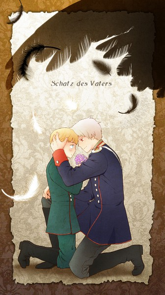 Tags: Anime, Moguimo, Axis Powers: Hetalia, Germany, Prussia, Pixiv, Fanart From Pixiv, Fanart, Mobile Wallpaper, Germanic Countries, Axis Power Countries