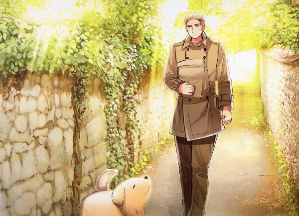 Tags: Anime, Himaruya Hidekaz, Axis Powers: Hetalia, Germany, Official Art, Scan, Axis Power Countries, Germanic Countries