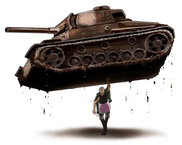 Tags: Anime, Mofumofumofu, Axis Powers: Hetalia, Germany, Whisk, Tank, Pixiv, Fanart