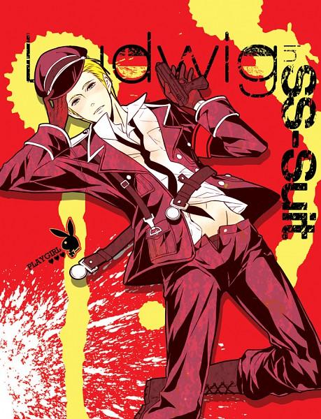 Tags: Anime, Pixiv Id 2079604, Axis Powers: Hetalia, Germany, Swastika, Fanart, Pixiv