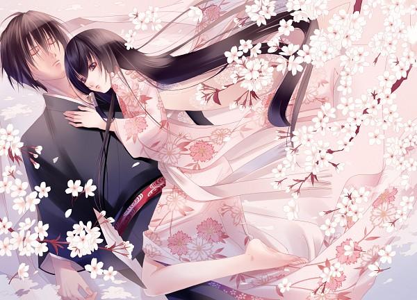 Tags: Anime, Papillon10, Getbackers, Fuuchouin Kazuki, Kakei Juubei, Pixiv, Fanart