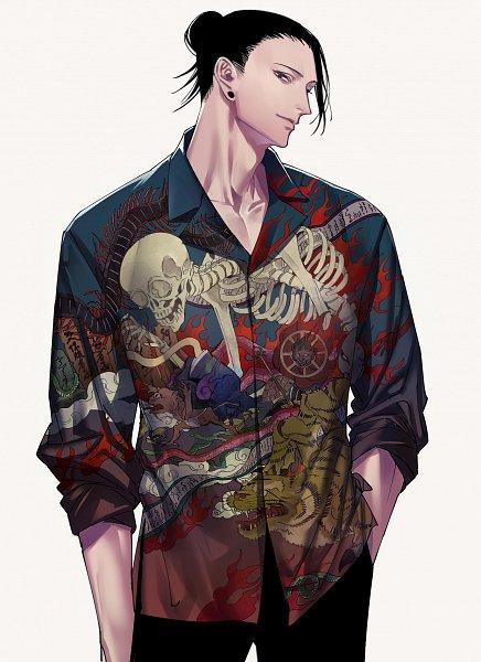 Tags: Anime, Tenobe, Jujutsu Kaisen, Getou Suguru, Fanart From Pixiv, Pixiv, Fanart